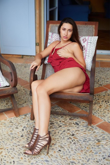 Beautiful Models Angelina Red Dre Fappenist 1