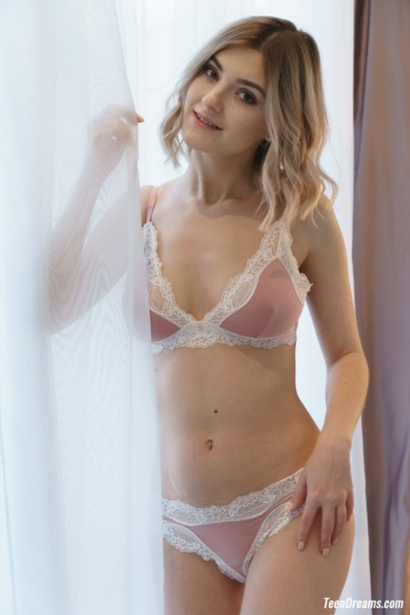 Lady Jay - Lady Jay in sexy silk lingerie
